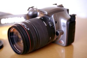 Canon EOS Kiss Digital + SIGMA 28-300mm F3.5-6.3 MACRO