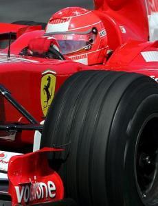 2006F1サン・マリノGP Mシューマッハ