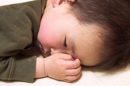 颯太と寝顔