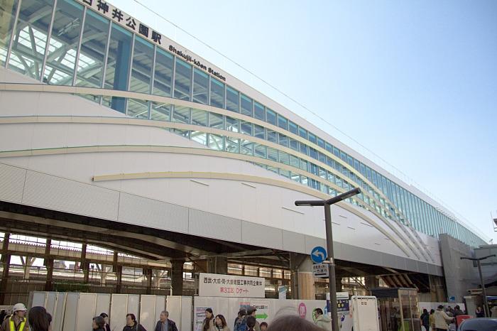 石神井公園新駅舎