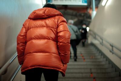 200911石神井公園駅階段