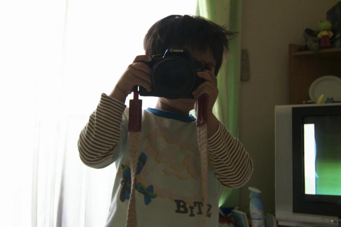 カメラマン颯太とEOS Kiss X2