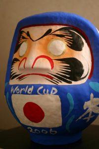 日本代表必勝だるま