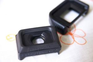Nikon DK-21M + Canon Eye-Cup Ef